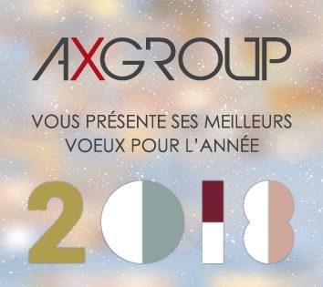 Meilleurs voeux 2018 par AXGROUP