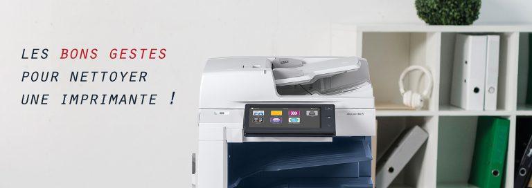 comment nettoyer une imprimante